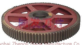 cutting plate machine roller gear,Manufacturers big gear,Vancouver Rolling gear,Cutter