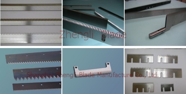 cutting tablets,Direct sales three straight tooth blade, staggered tooth blade on three sides,Kildare Paper machine blade,Cutter